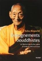 enseignement de Kalou Rinpoche